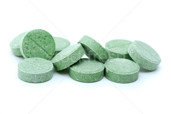 Some green tablets Stock photo © digitalr