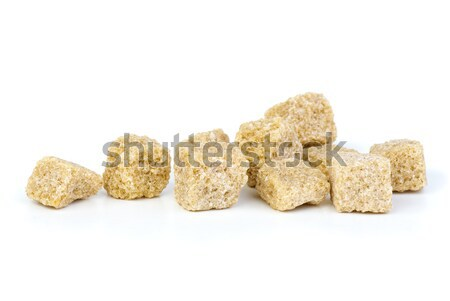 Few pieces of brown sugar Stock photo © digitalr