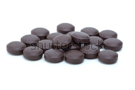 Some brown tablets  Stock photo © digitalr