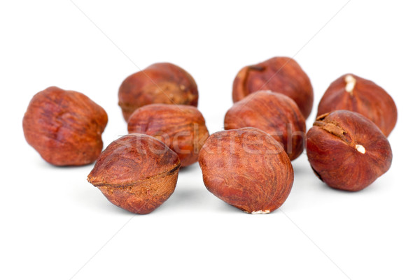 Few roasted hazelnuts  Stock photo © digitalr