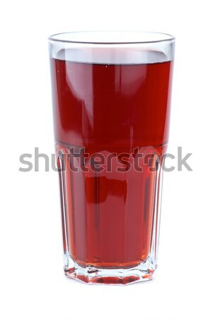 Glass filled with red pomegranate juice Stock photo © digitalr