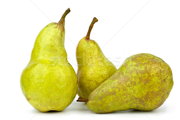 Three green pears Stock photo © digitalr