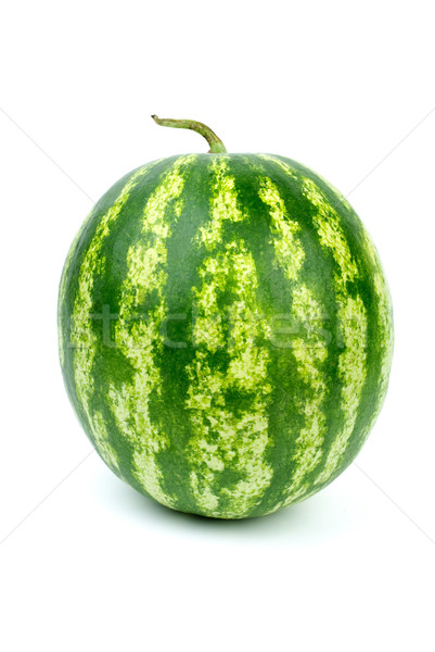 Stripy green watermelon Stock photo © digitalr