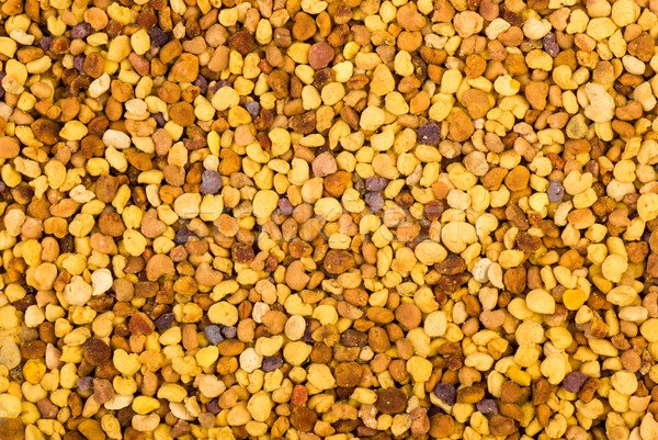 Abstract background: bea gathered pollen granules Stock photo © digitalr