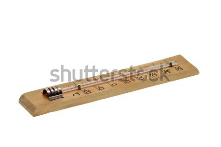 Alcohol air thermometer Stock photo © digitalr