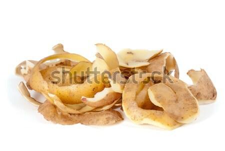 Some potato peel Stock photo © digitalr
