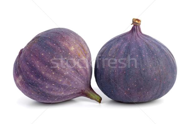 Due isolato bianco fresche dolce viola Foto d'archivio © digitalr