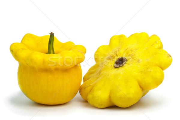 Two scallop squash vegetables Stock photo © digitalr