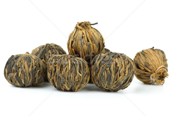 Braided yunnan black tea Stock photo © digitalr
