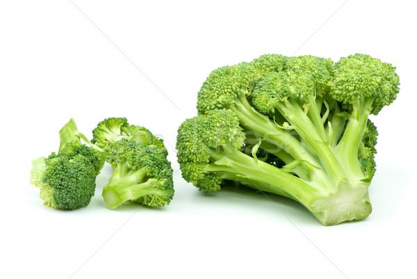 Stockfoto: Een · groot · weinig · klein · broccoli · stukken