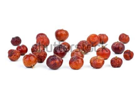 Herbs: Dried red juniper (Juniperus oxycedrus) berries Stock photo © digitalr