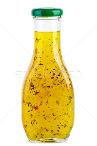 ガラス ボトル イタリア語 ソース 辛い ハーブ ストックフォト © digitalr