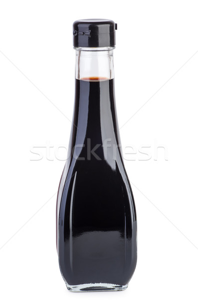 Decanter with balsamic vinegar Stock photo © digitalr