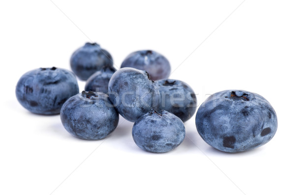 Few bilberries Stock photo © digitalr
