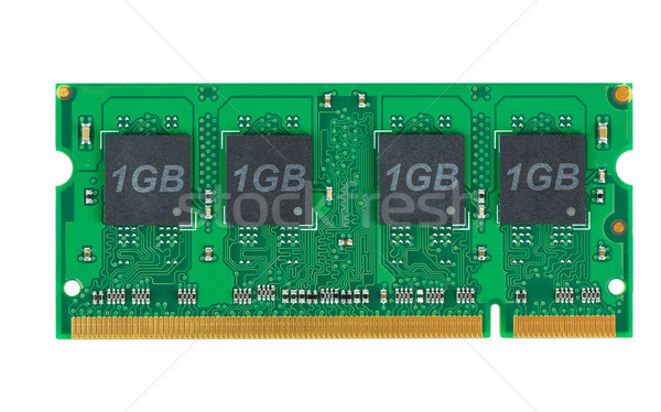 ノートパソコン メモリ モジュール 孤立した 白 コンピュータ ストックフォト © digitalr
