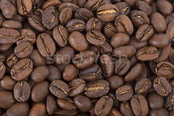 Coffee beans background Stock photo © digitalr