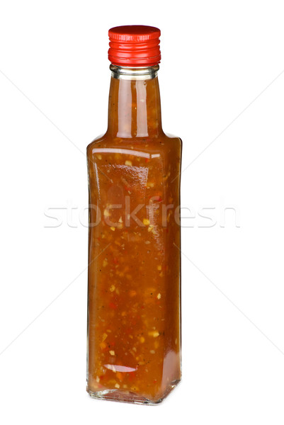 Piquant ketchup with vegetable pieces Stock photo © digitalr