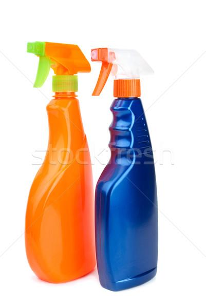 Orange and blue sprayer bottles Stock photo © digitalr
