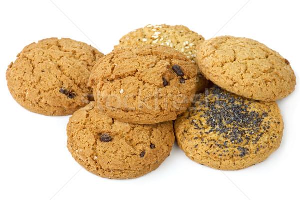 Az kurabiye kuru üzüm susam haşhaş Stok fotoğraf © digitalr
