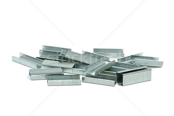 Pile of staples Stock photo © digitalr