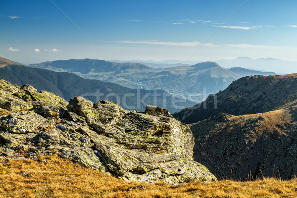 Beautiful mountain peaks in Spain  Stock photo © digoarpi
