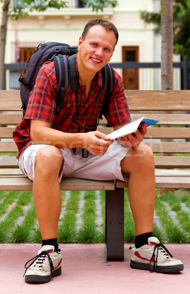 Young man Stock photo © digoarpi