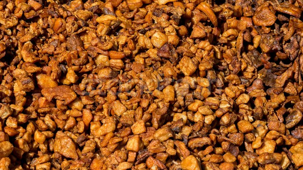 Tasty crackling on the market Stock photo © digoarpi