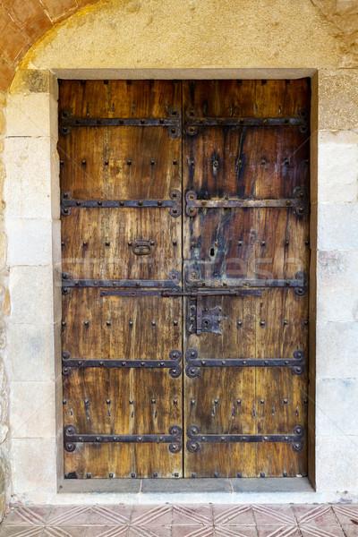 Old door Stock photo © digoarpi