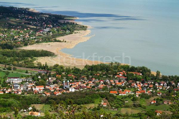 Lake Balaton Stock photo © digoarpi