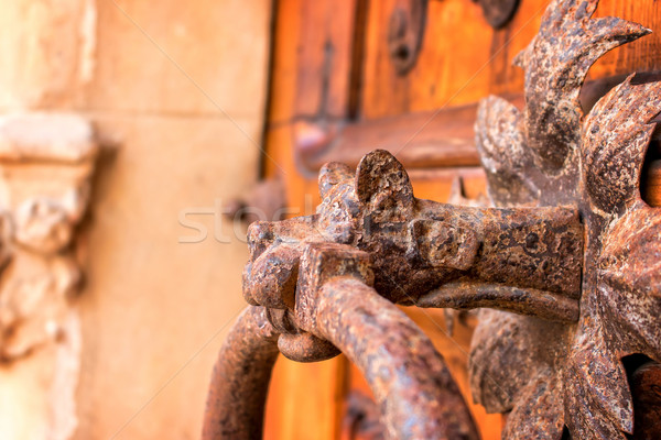 Knocker Stock photo © digoarpi
