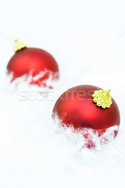 Isolado belo natal abstrato bola Foto stock © digoarpi