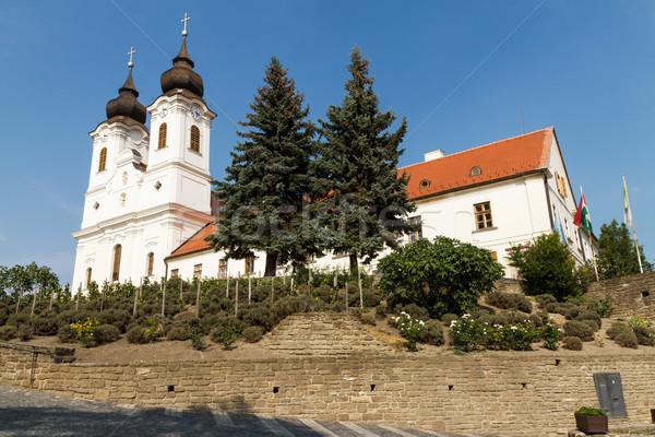 Abbey Tihany Stock photo © digoarpi