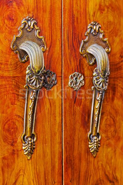 Door handle Stock photo © digoarpi
