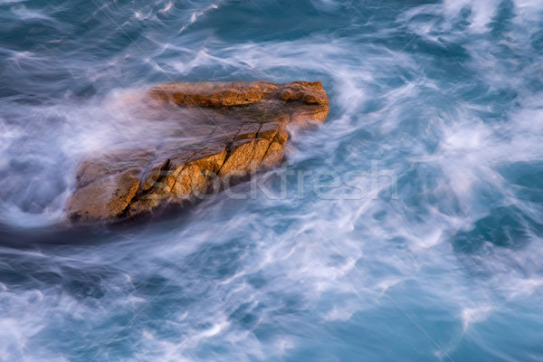 Bom pormenor espanhol costa praia primavera Foto stock © digoarpi