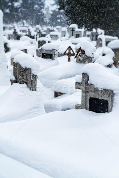Cementery Stock photo © digoarpi