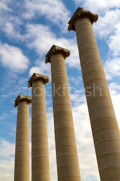 Columns Stock photo © digoarpi