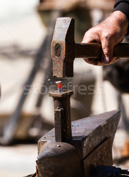 Blacksmith Stock photo © digoarpi