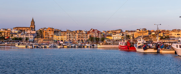 Połowów motorówka port Hiszpania wygaśnięcia charakter Zdjęcia stock © digoarpi
