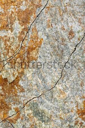 Stukken ijzer rock textuur achtergrond berg Stockfoto © digoarpi