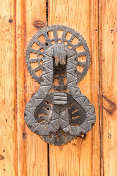 Door Knocker, Ancient Knocker Stock photo © digoarpi