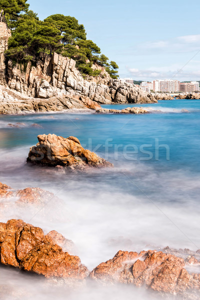 Spanish coast (Costa Brava)  Stock photo © digoarpi