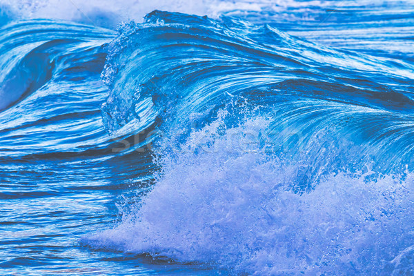 Big waves from the ocean Stock photo © digoarpi