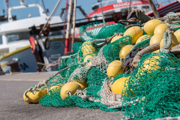 Fishing nets  Stock photo © digoarpi