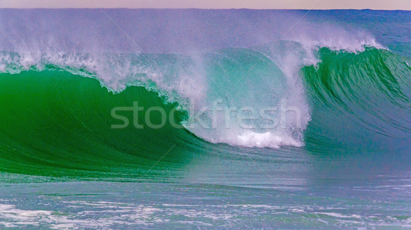 Beautiful waves on the Spanish mediterranean ocean Stock photo © digoarpi