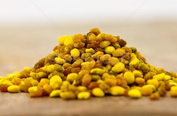 花粉 自然 蜂 白 ストックフォト © digoarpi