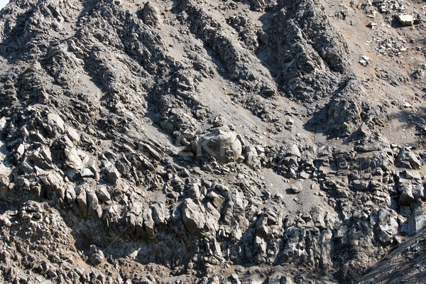 Bazalt bánya Magyarország természet kő kő Stock fotó © digoarpi