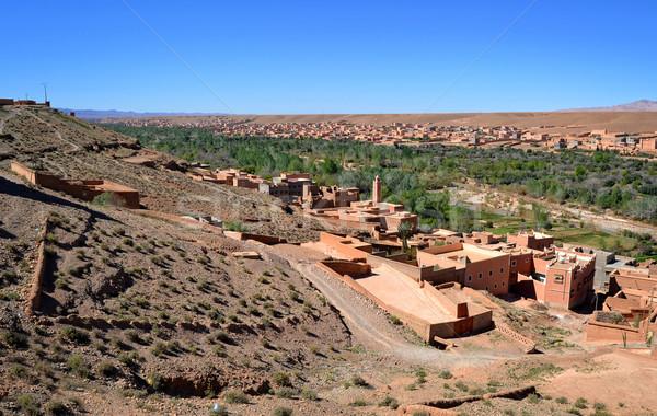 Moroccan countryside  Stock photo © digoarpi