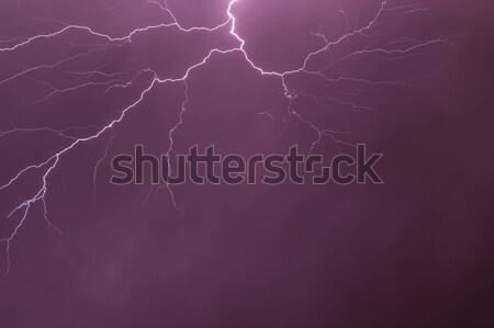 Lightning Stock photo © digoarpi