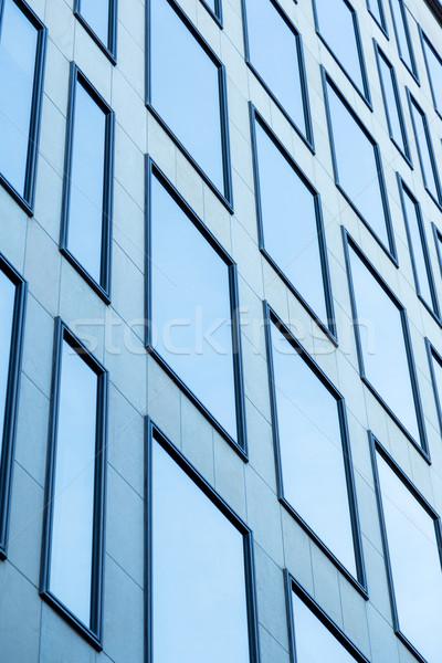 Modern bina özel Barcelona ev şehir inşaat Stok fotoğraf © digoarpi