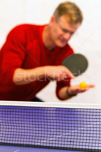 Table tennis Stock photo © digoarpi